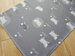 55x120 cm bieżniki drukowane SZARE OWCE (20695-10)