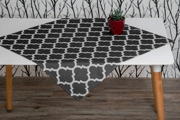 85x85 cm kwadrat drukowany MAROKO GRAFIT (20705-10)